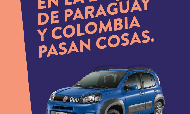 Paraguay y Colombia:<br />una esquina donde pasan cosas.